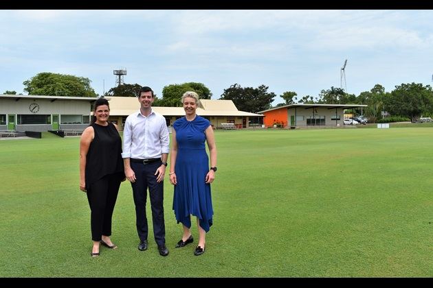 Federal Sports Minister supports Marrara Cricket Ground Lighting Project 2018