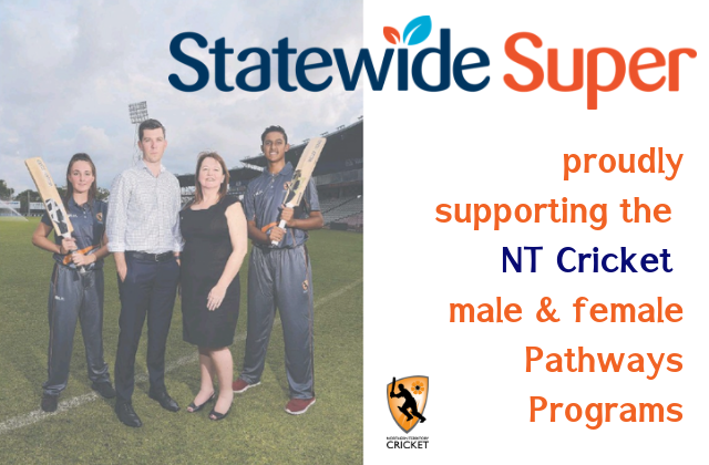 Statewide Super supports NT Cricket Pathway programs
