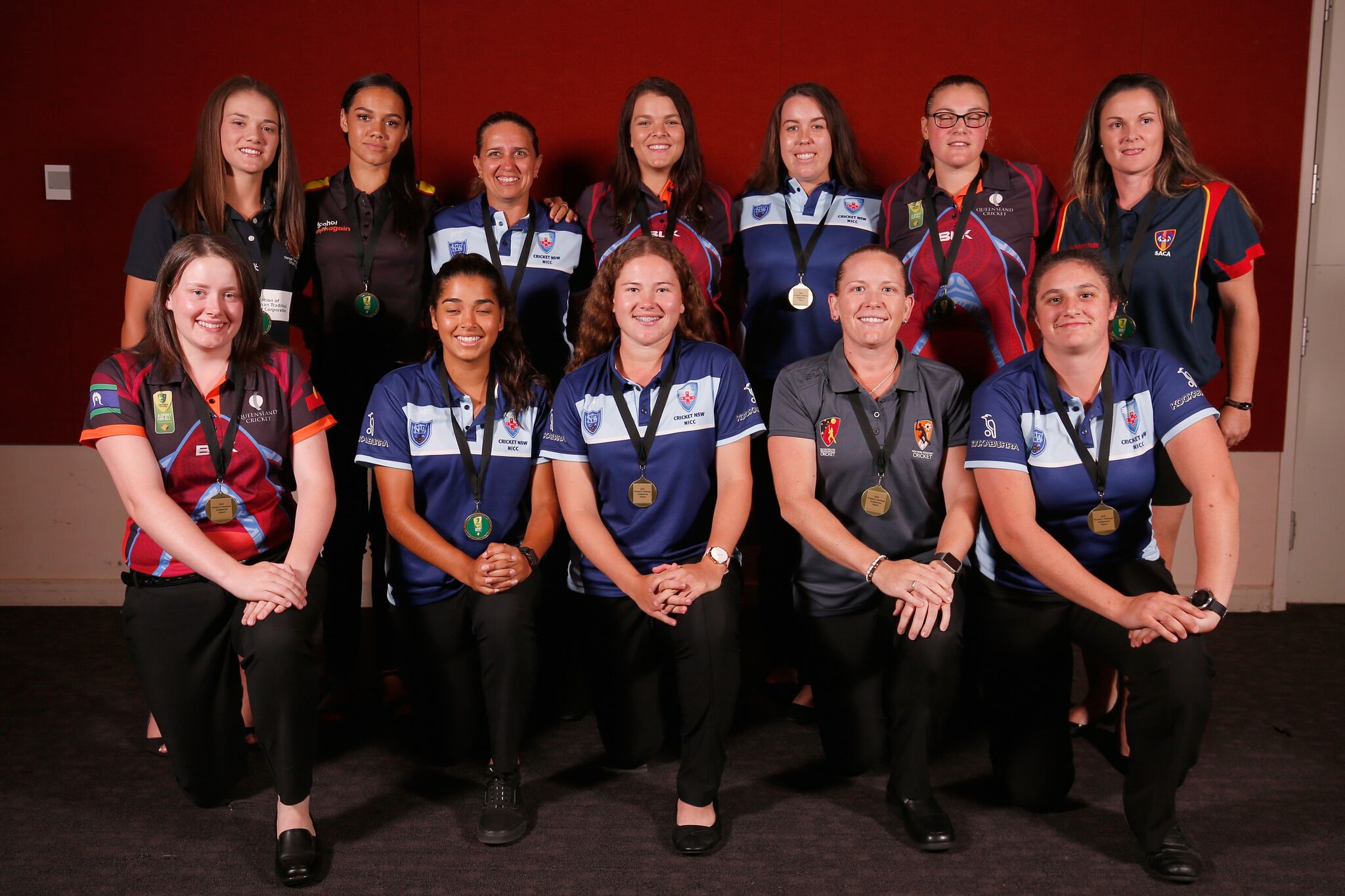 NICC 2018 Black Caps women's Squad